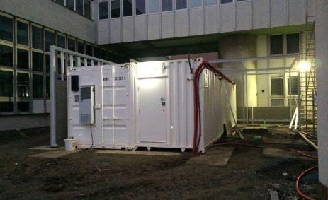 Modified containers, Canada, Corner Cast