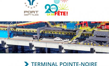 Terminal Pointe-Noire in Port